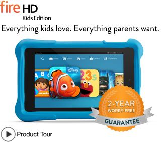 Amazone Fire Tablet for Kids