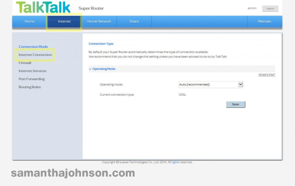 Problem accessing a particular website TalkTalk Huawei HG635
